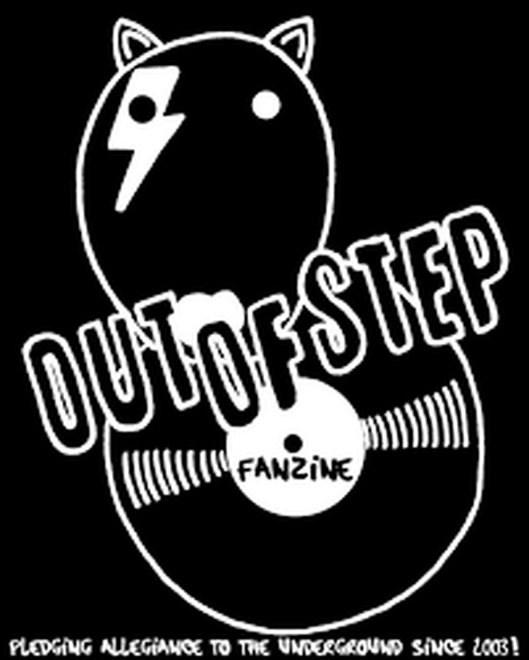 Logo out of step fanzine
